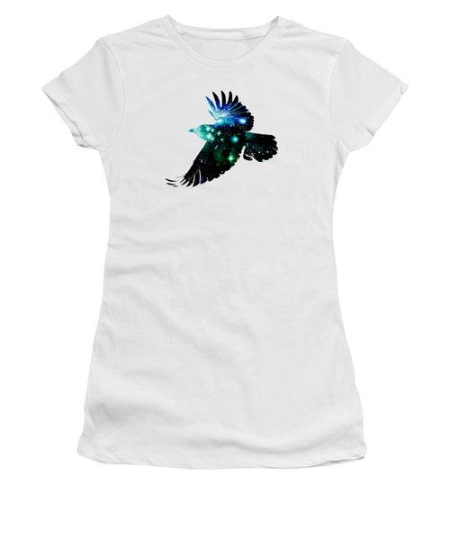 Raven Women's T-Shirt (Junior Cut) by Anastasiya Malakhova