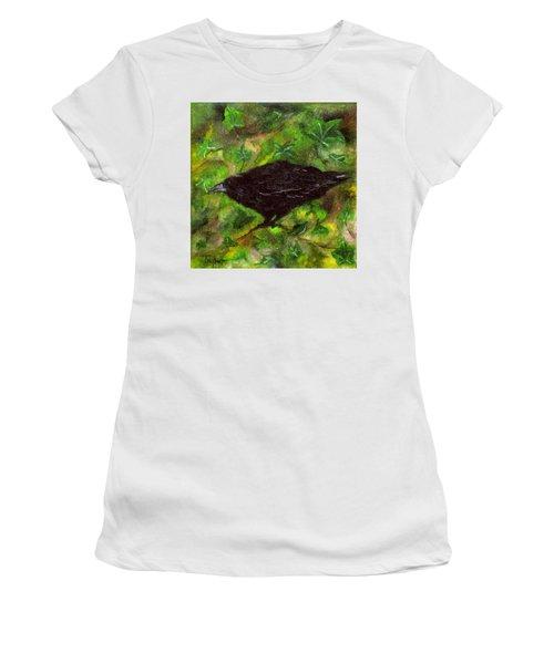 Raven In Ivy Women's T-Shirt