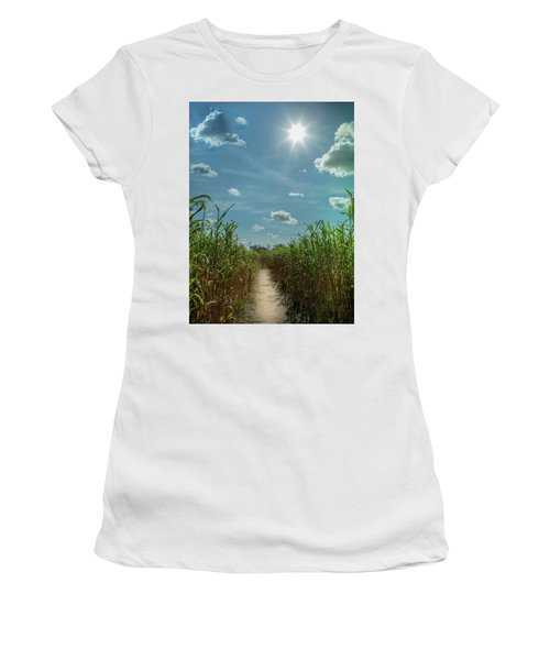 Rays Of Hope Women's T-Shirt (Junior Cut) by Karen Wiles