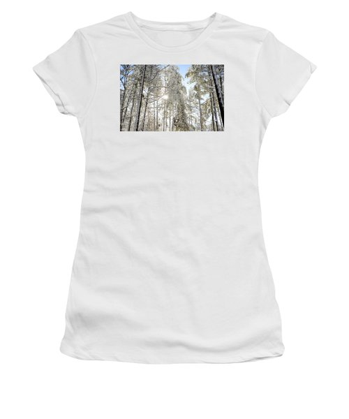 Reach For The Sky Women's T-Shirt (Athletic Fit)