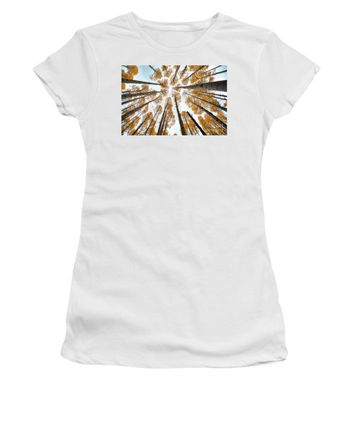 Reaching The Sky Women's T-Shirt
