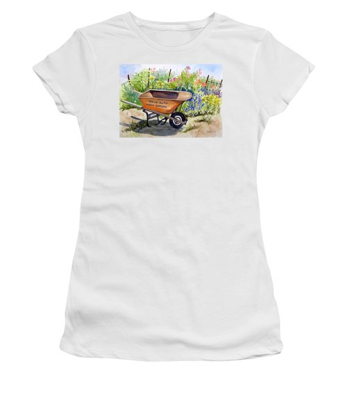 Ready At The Main Garden Women's T-Shirt (Athletic Fit)