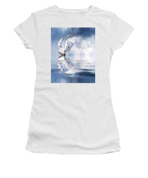 Ready For Take Off Women's T-Shirt (Junior Cut) by Cyndy Doty