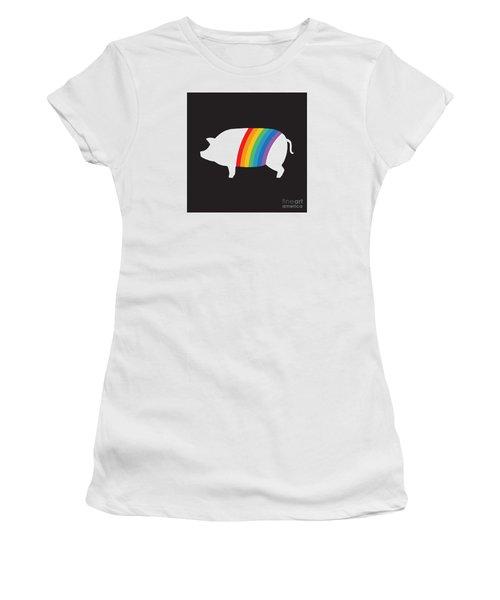 Rebranding Women's T-Shirt (Athletic Fit)