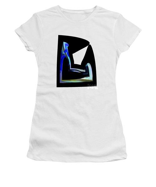 Recline Women's T-Shirt (Junior Cut) by Thibault Toussaint