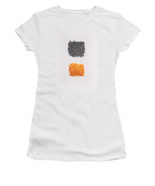 Red And Black Lentils Women's T-Shirt