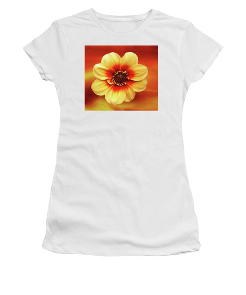 Red And Yellow Inspiration Women's T-Shirt