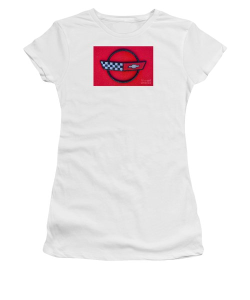 Red C4 Women's T-Shirt (Athletic Fit)