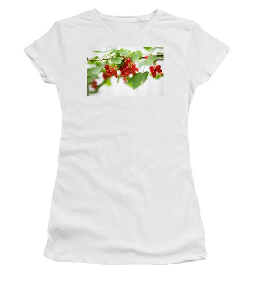 Red Currant Women's T-Shirt (Athletic Fit)