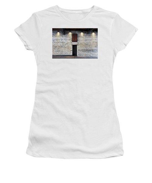 Red Door Women's T-Shirt (Junior Cut) by David Blank