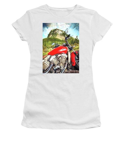Red Indian Summer Women's T-Shirt