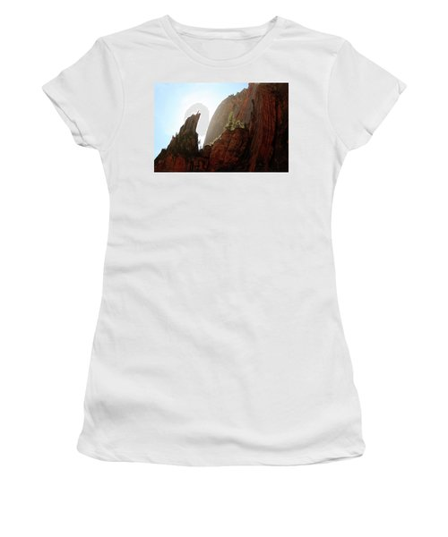 Red Rock At Zion Women's T-Shirt
