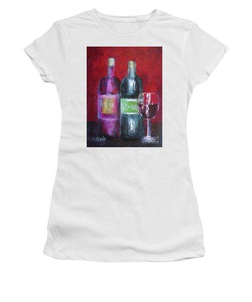 Red Wine Art Women's T-Shirt