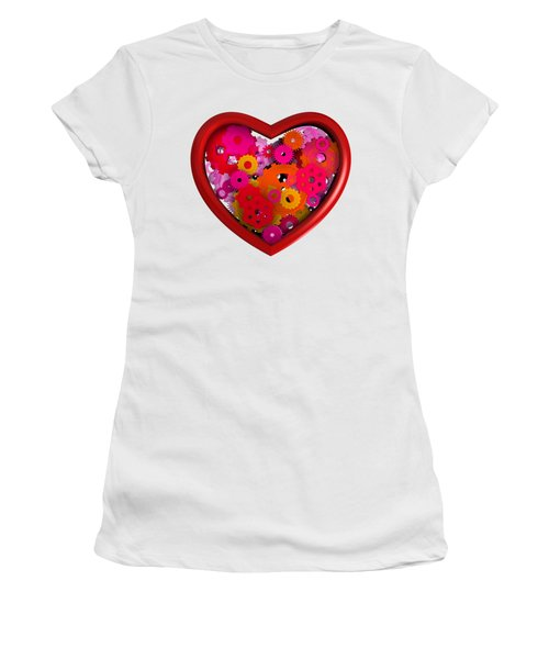 Redish Mechanical Love Women's T-Shirt