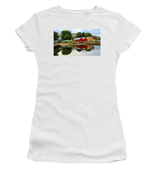 Reflections In Rorvik Women's T-Shirt (Athletic Fit)