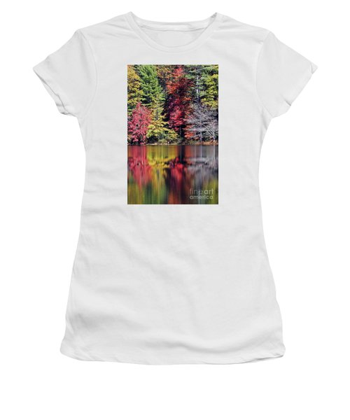 Reflections Of A Bare Tree Women's T-Shirt