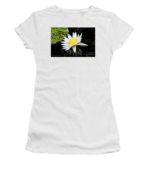 Reflective Lily Women's T-Shirt (Athletic Fit)