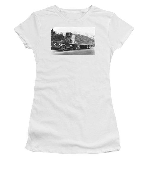 Refrigerated Semi Trailer Women's T-Shirt