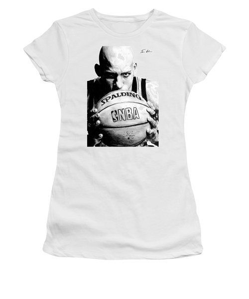 Reggie Miller Women's T-Shirt (Athletic Fit)