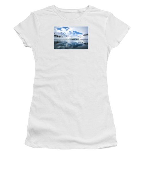 Reid Glacier Glacier Bay National Park Women's T-Shirt