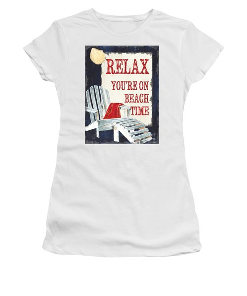 Relax You're On Beach Time Women's T-Shirt