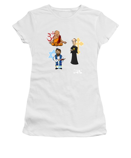 Religious Icons Women's T-Shirt (Athletic Fit)