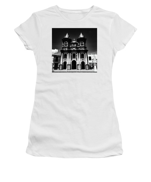 Replica Church In El Penol Women's T-Shirt