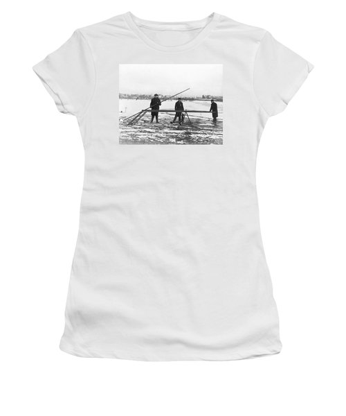 Rescue For Skating On Thin Ice Women's T-Shirt