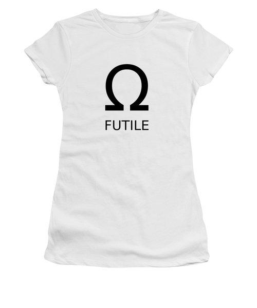 Resistance Is Futile Women's T-Shirt (Athletic Fit)