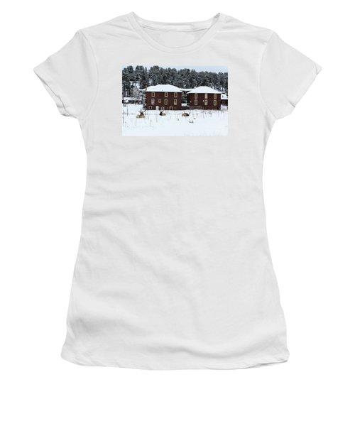 Resting Elk - 9131 Women's T-Shirt (Athletic Fit)