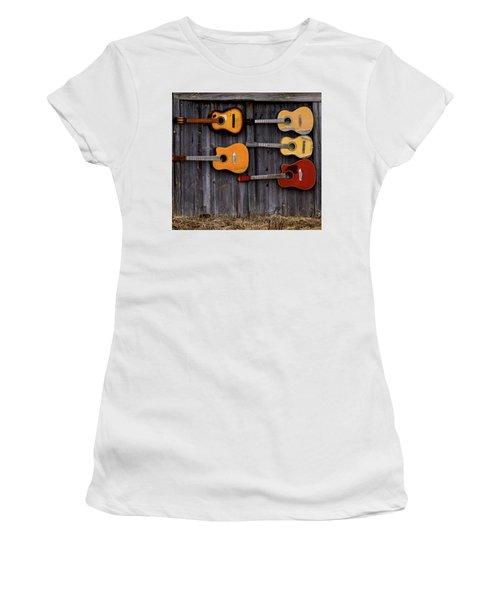 Retired Guitars  Women's T-Shirt