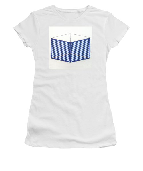 Women's T-Shirt featuring the drawing Rfb1012 by Robert F Battles