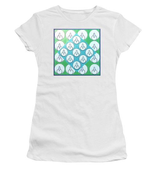 Women's T-Shirt featuring the drawing Rfb1022 by Robert F Battles