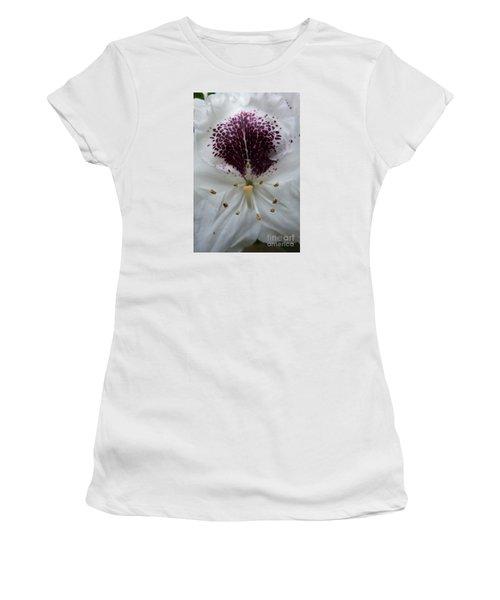 Rhododendron 2 Women's T-Shirt (Junior Cut) by Jean Bernard Roussilhe