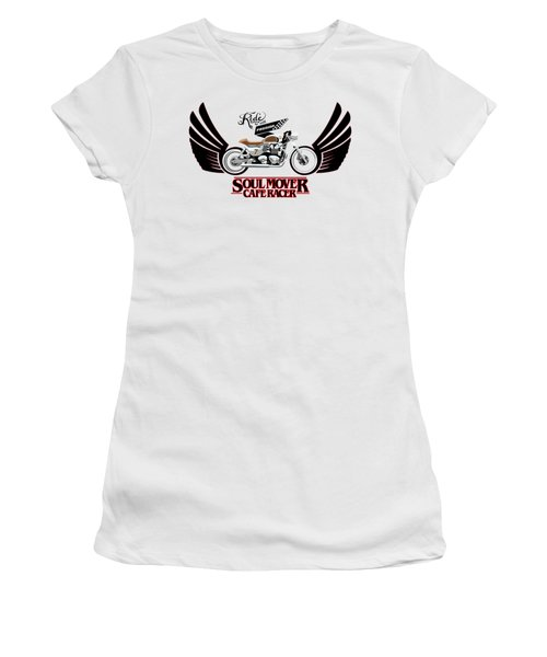 Ride With Passion Cafe Racer Women's T-Shirt