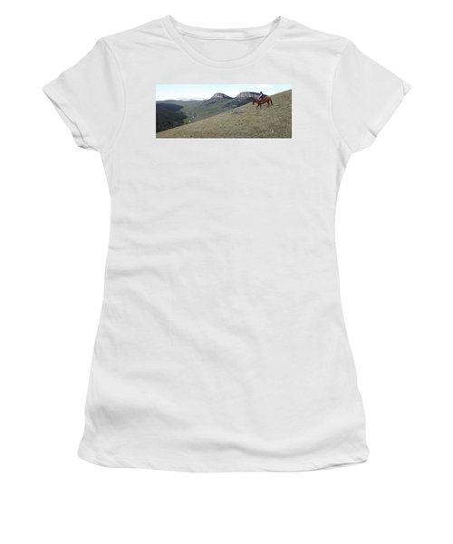 Ridge Riding Women's T-Shirt