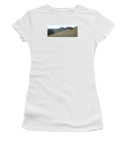 Ridge Riding Women's T-Shirt