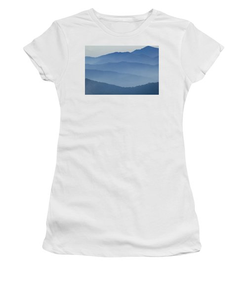 Ridgelines Great Smoky Mountains Women's T-Shirt (Athletic Fit)