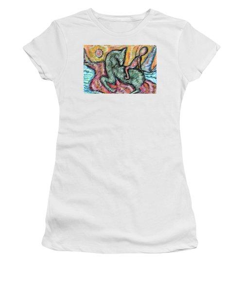 Ridin' Women's T-Shirt (Athletic Fit)