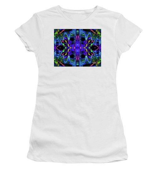 Rings Of Fire Dopamine #156 Women's T-Shirt (Junior Cut) by Barbara Tristan