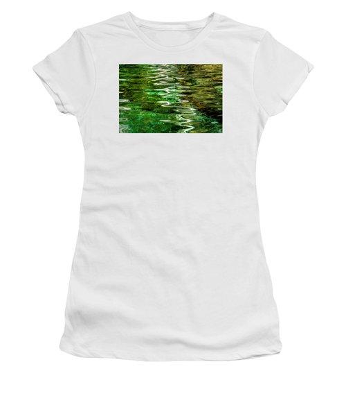 Ripple Paintings Women's T-Shirt