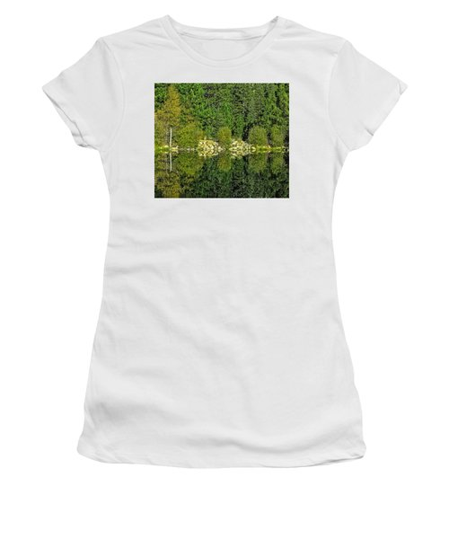 Ripples And Reflection-edit-2 Women's T-Shirt