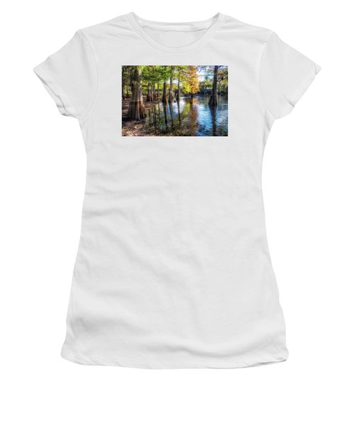 River Eeriness Women's T-Shirt (Athletic Fit)