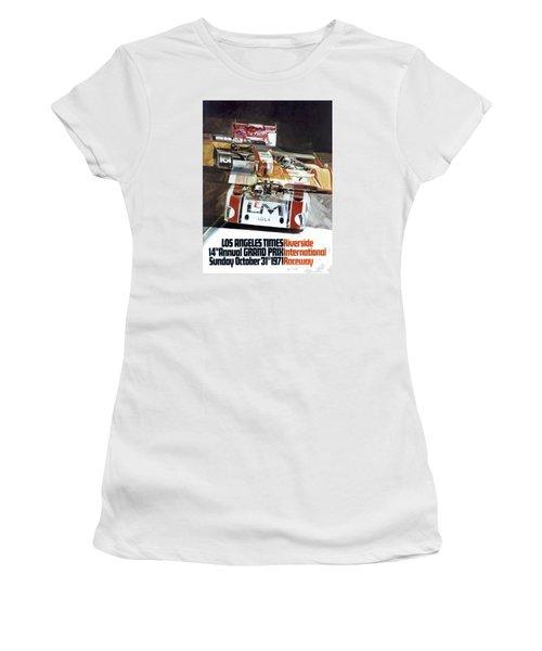 Riverside Can-am Women's T-Shirt (Junior Cut) by Peter Chilelli