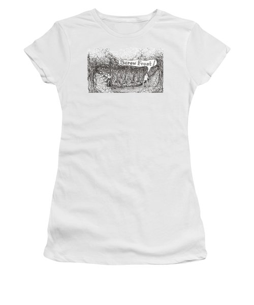 Road More Travelled Women's T-Shirt