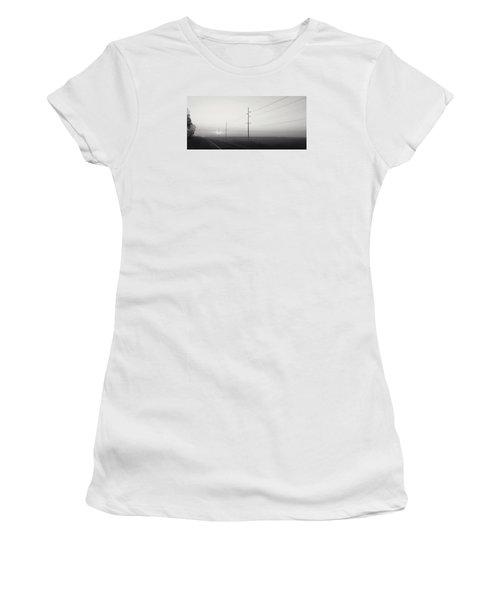 Road To Nowhere Women's T-Shirt (Junior Cut) by Sarah Boyd