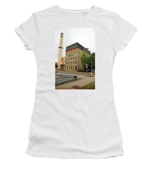 Rochester, New York - Smokestack 2005 Women's T-Shirt (Junior Cut) by Frank Romeo