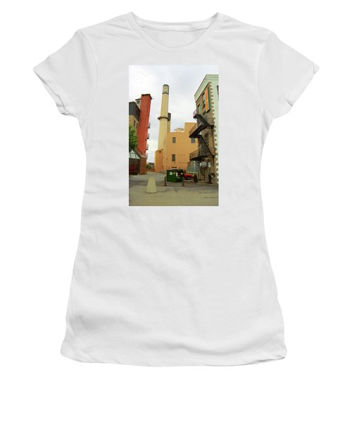 Rochester, Ny - Behind The Bar And Factory 2005 Women's T-Shirt (Junior Cut) by Frank Romeo