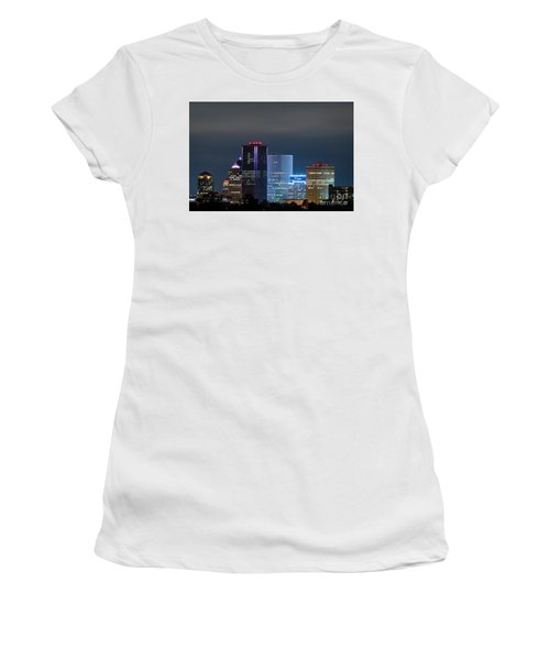 Rochester Ny Twilight Women's T-Shirt (Athletic Fit)