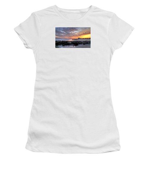 Rock On Women's T-Shirt (Junior Cut) by John Loreaux